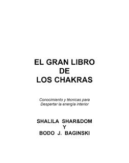 Descargar ebook sobre chakras gratis El Gran Libro de los Chakras