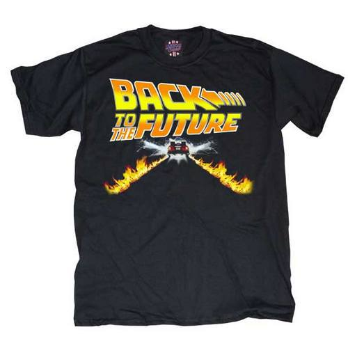 win free Back to the Future flames shirt