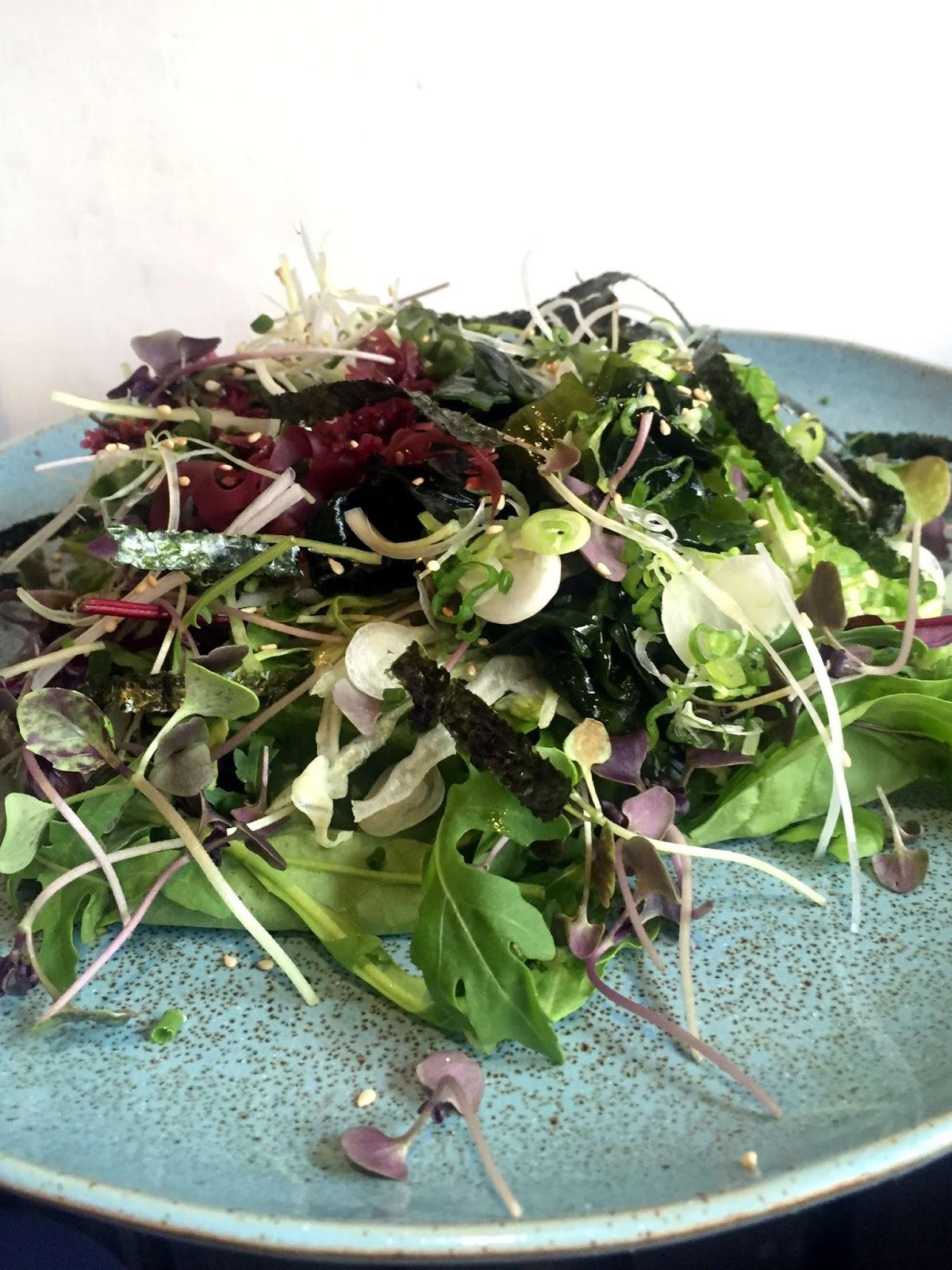 Stitch and Bear - Miyazaki - Kaisou seaweed salad