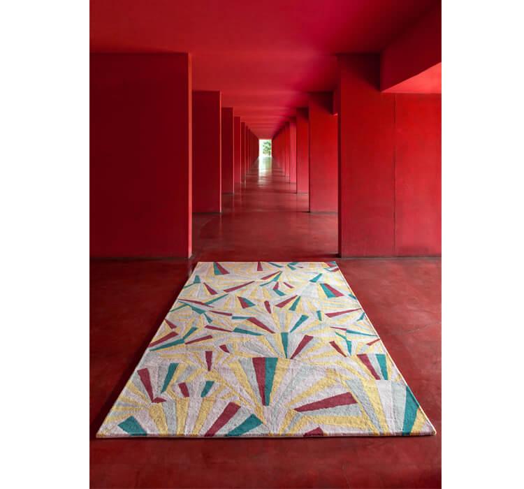 Maison & Object 2018: tappeto Wagasa di Vito Nesta