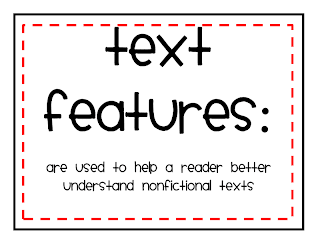 Buggy for Second Grade: Text Feature Freebie