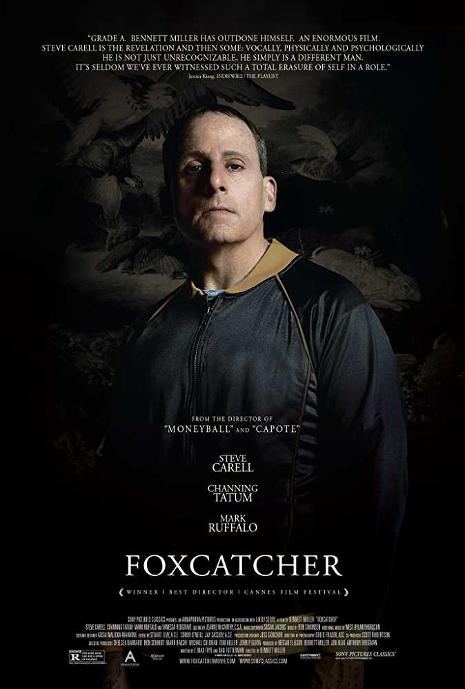 Poster Foxcatcher 2014 Full Movie Dual Audio Hindi Download 720p