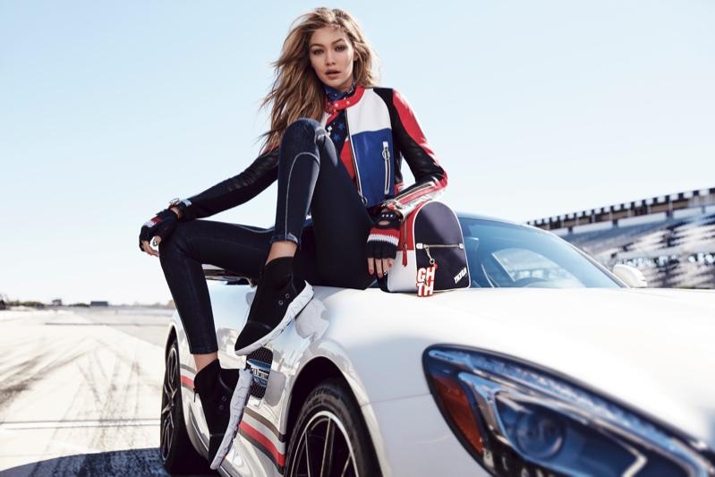 Gigi Hadid for TommyxGigi Spring/Summer 2018 Campaign