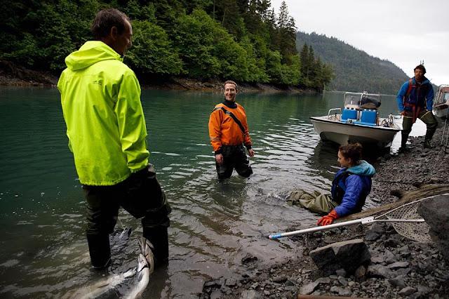 Mark Zuckerberg Visited Homer, Alaska as part of the Year of Travel challenge