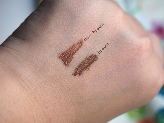 Mizon Correct Browcara has an amazing color pigmentation and consistency. The color spread so evenly and easily all over the brow hair. It feels lightweight and last long. This product easy to use for beginner, dries very fast and last long.