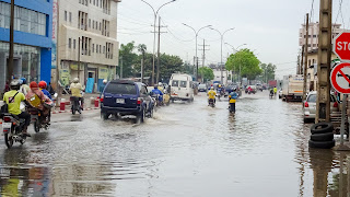 Westafrica has some countries with heavy rainfall