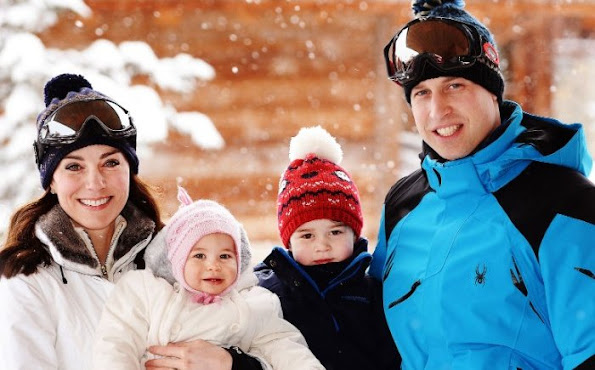 Prince William, Duke of Cambridge and Catherine, Duchess of Cambridge have released photos of their family holiday with Prince George and Princess Charlotte
