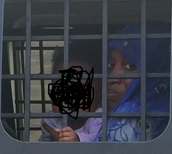Exclusive close-up photos of alleged husband killer, Maryam Sanda on her way to prison after court hearing