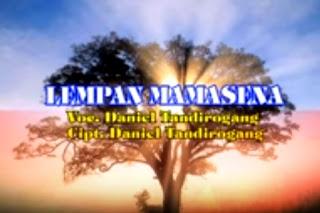 Lirik Lagu Toraja Lempan Mamasena (Daniel Tandirogang)