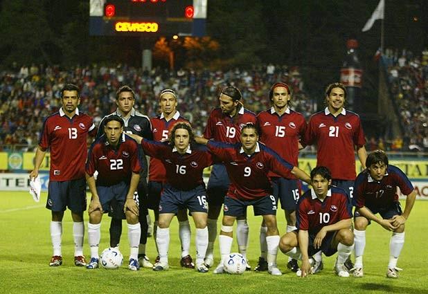 Formación de Chile ante Perú, Copa del Pacífico 2006, 7 de octubre