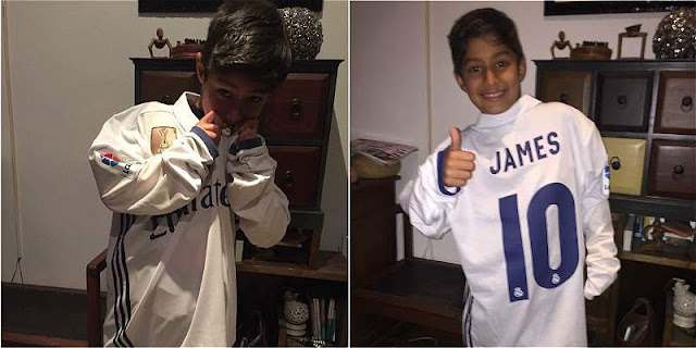 Heroik, Bocah 8 Tahun Buru Jersey Bintang Madrid ke Bernabeu