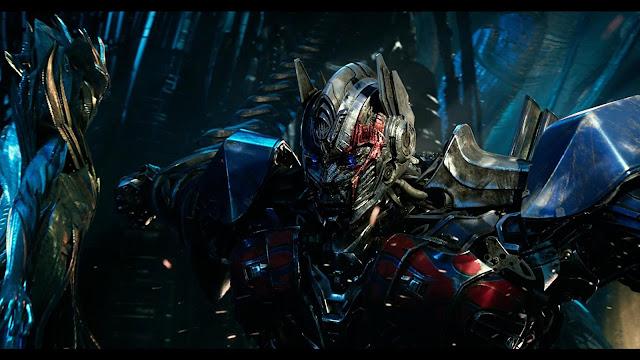 Transformers el último caballero Optimus Prime