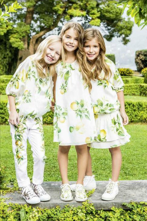 694fef2a5 Коллекция детской одежды для девочек, весна/лето 2015 - Roberto Cavalli  Junior