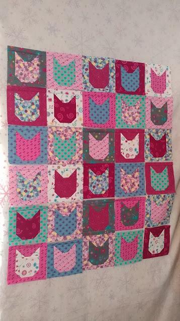 Kitty cat quilt blocks