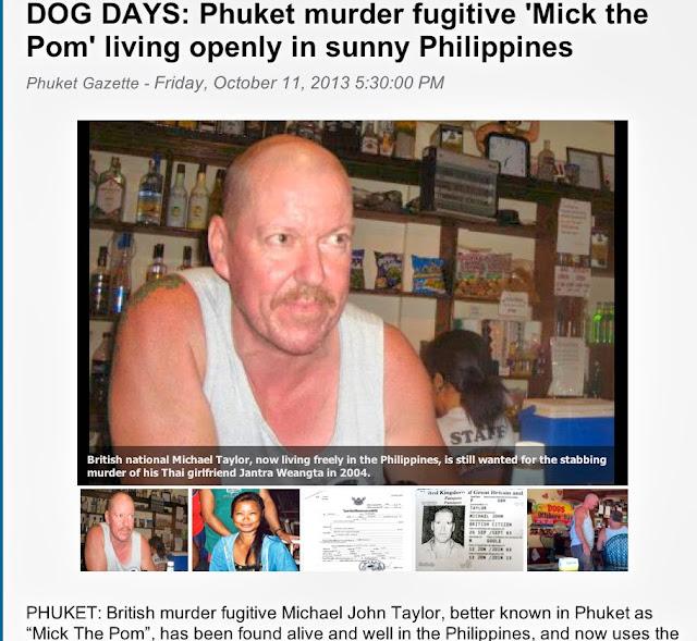 "Michael John Taylor ""Mick The Pom"""