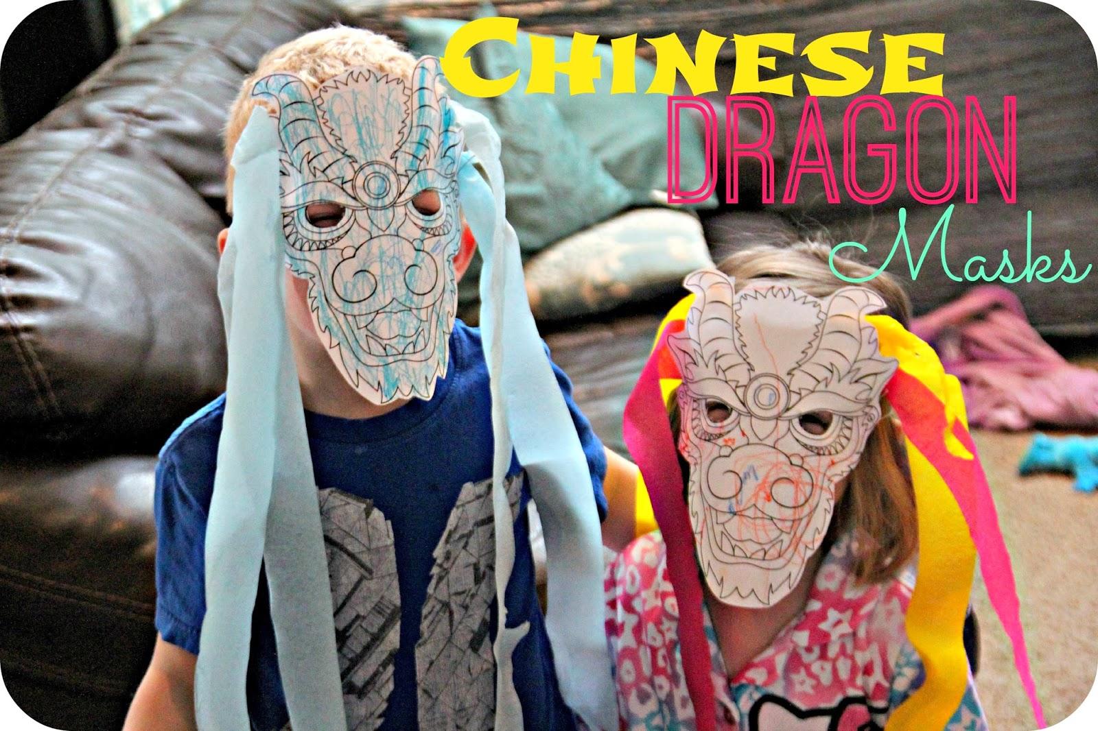 Blue Skies Ahead Chinese Dragon Masks Chinese New Year Week