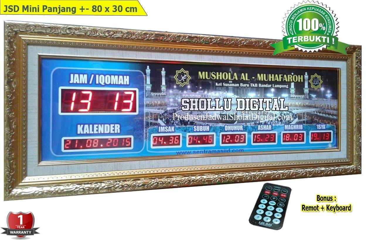 Toko Jam Jadwal sholat Digital Di Jakarta Pusat 08121409995 ... c6ff49d6c3