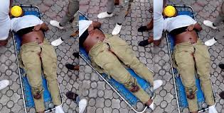 NYSC member knocked down by reckless Danfo driver in Lagos dies