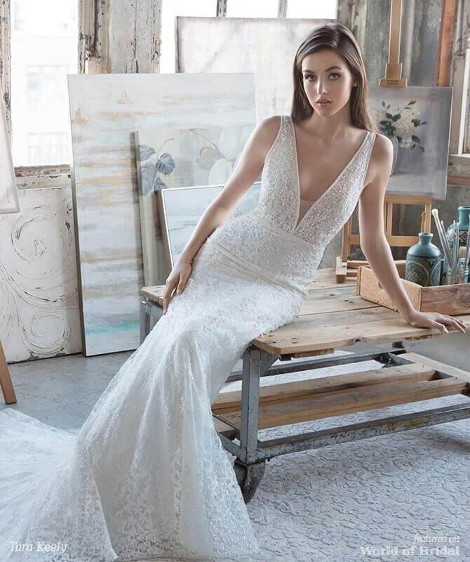 119666e0d377 Ivory Wedding Dress Collection 2018 – Fashion dresses