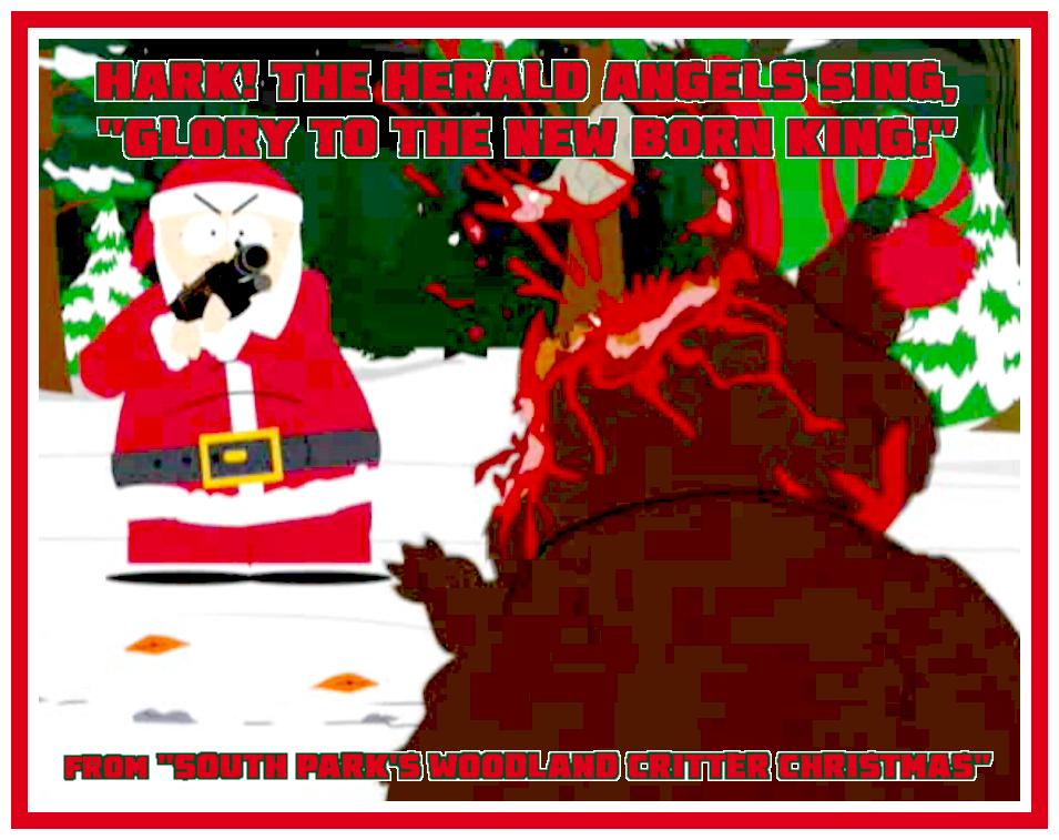 South Park Woodland Critter Christmas.Misfit Robot Daydream South Park Woodland Critter