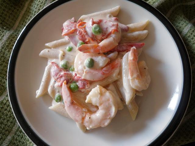 Seafood Penne
