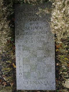 Grab von Siegbert Tarrasch