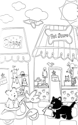 froggy goes to school coloring pages - american girl doll printables my froggy stuff