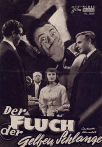 El director Franz Josef Gottlieb contó con Oskar Sala para la banda sonora de su película de misterio Der Fluch Der Gelben Schlange