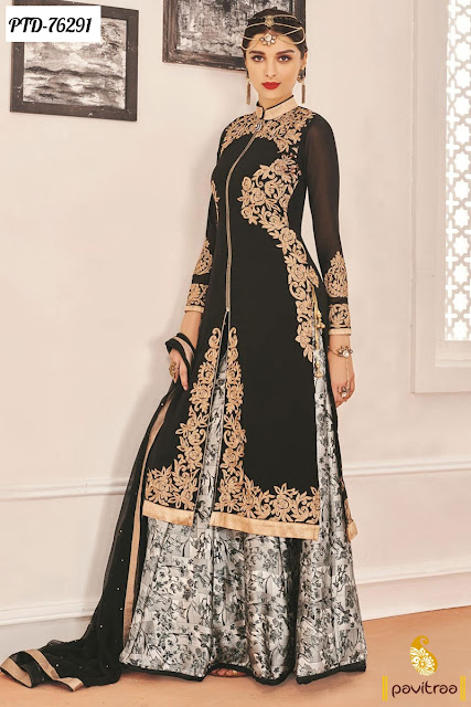 Stylish Palazzo Salwar Suits Online Shopping For EID 2016