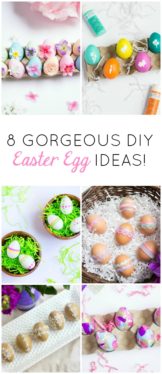 17 Must Try Easter Crafts and Egg Decorating Ideas ...