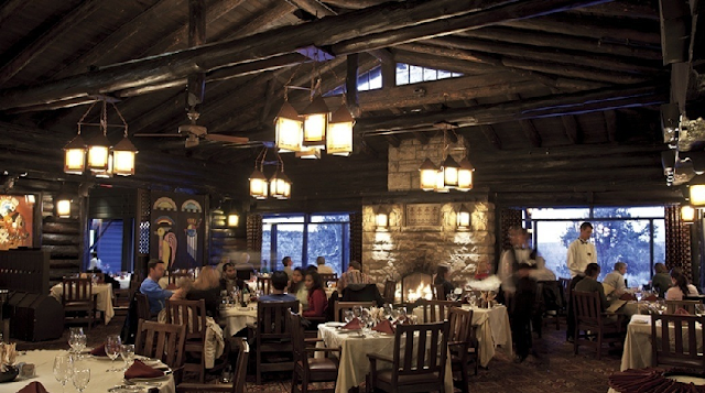 Restaurante El Tovar Dining Room no Grand Canyon