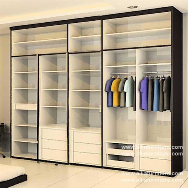 dalam lemari pakaian minimalis unit smash