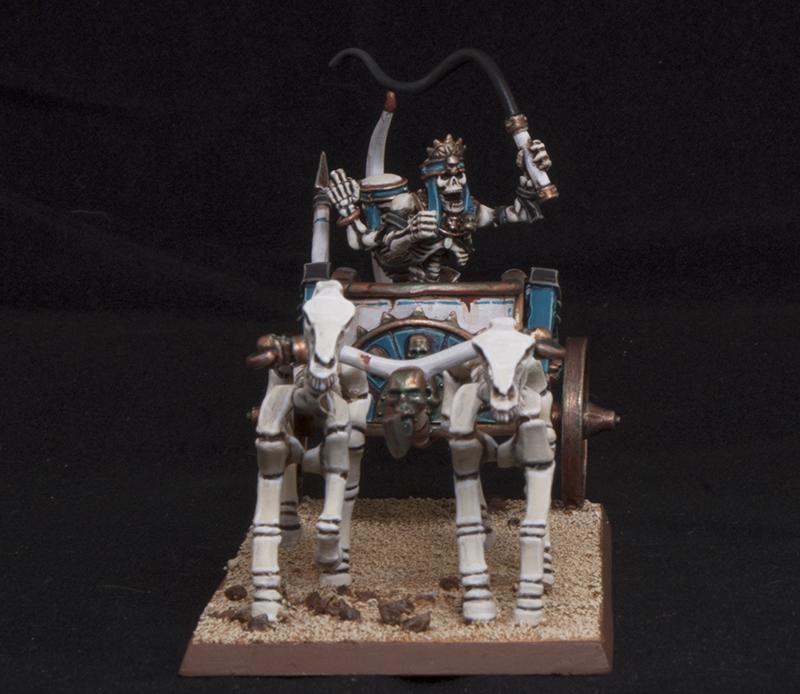 Mengel Miniatures: GALLERY: Tomb King Chariot