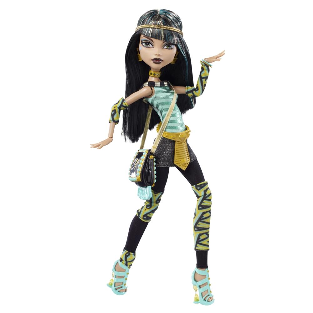 Monster High: Muñeca de Cleo de Nile (Monster High) para imprimir