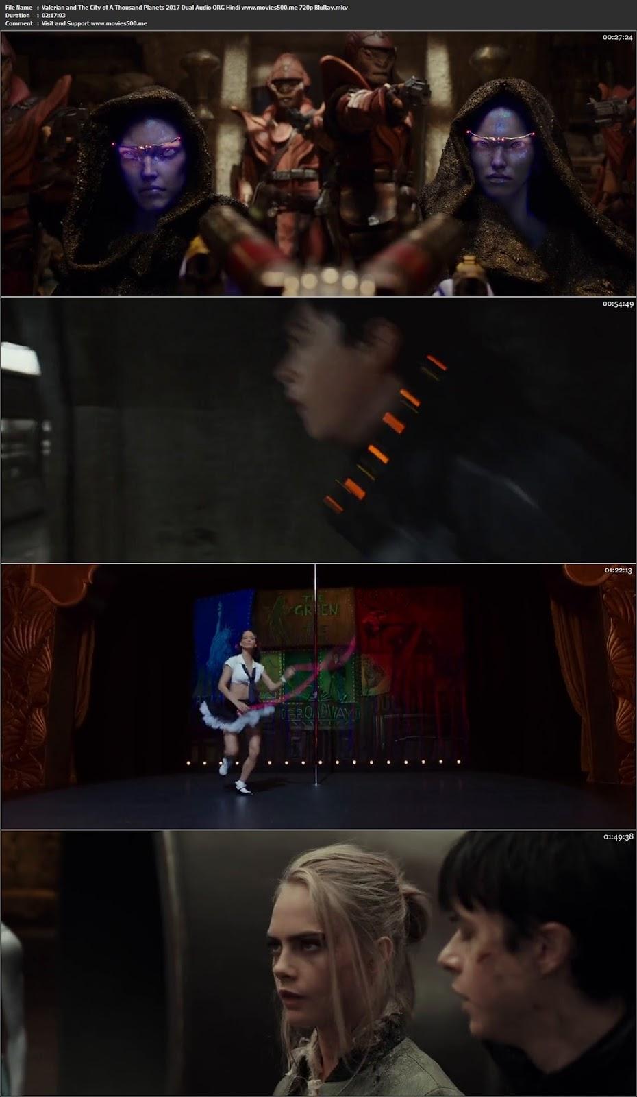Valerian And The City Of A Thousand Planets 2017 Dual Hindi BluRay 720p at movies500.bid