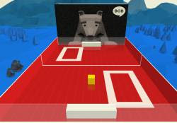 gioco Pong in 3D in webcam