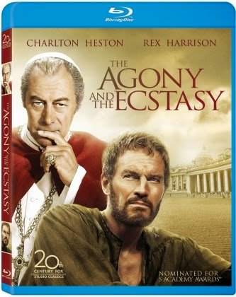 Blu-ray Review - The Agony and the Ecstasy
