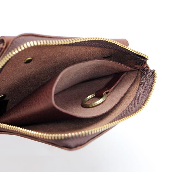 CINQ サンク 小さめの財布 革