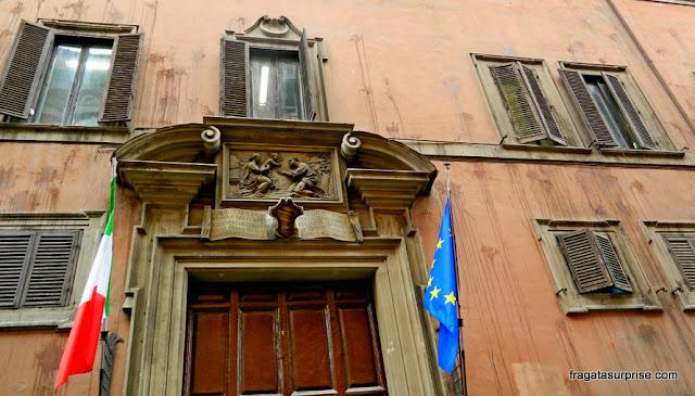 Palácio renascentista na Via Giulia, Roma