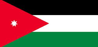 Gambar Bendera negara Yordania