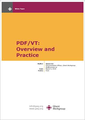 Rilasciato il PDF/VT White Paper