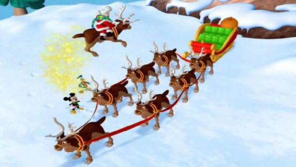 MICKEY MOUSE: Do you see the eighth reindeer