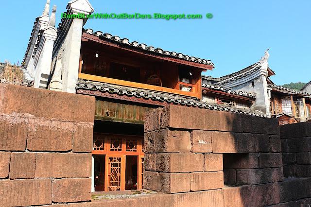 Town wall, Phoenix Fenghuang County, Hunan, China