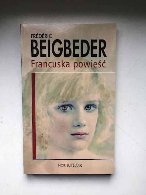 """Recenzje #96 - """"Francuska powieść"""" - okładka książki pt.""""Francuska powieść"""" - Francuski przy kawie"""