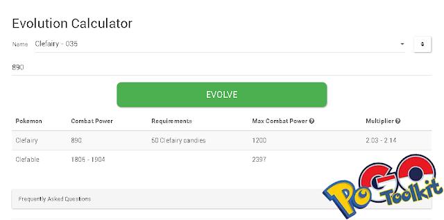 Cara Menggunakan Kalkulator Evolusi Pokemon GO
