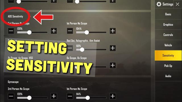 Setting aim no recoil terbaik untuk mengendalikan senjata di PUBG Mobile