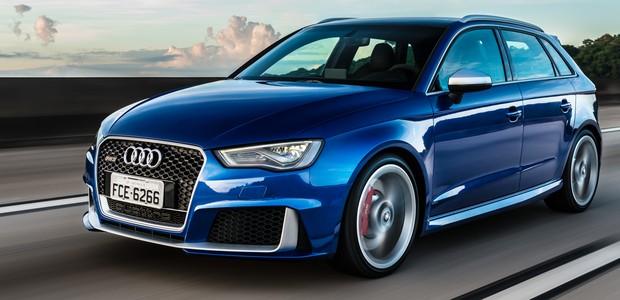 Audi RS3 Sportback vai de 0 a 100 em 4,3 segundos
