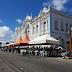 Servidores públicos municipais acampam na frente da prefeitura do Natal