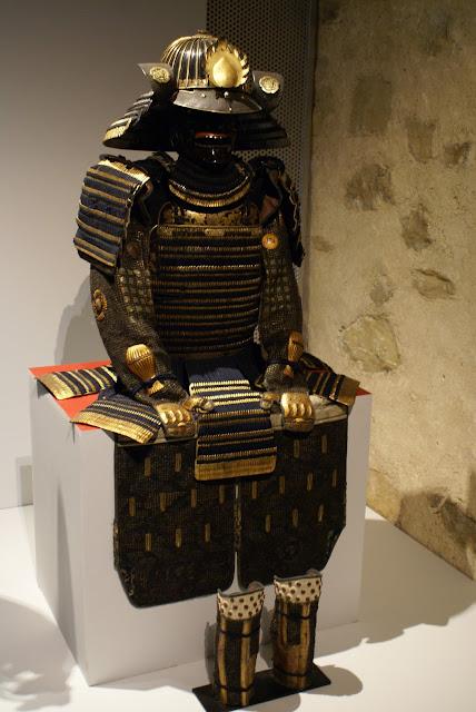 exposition samourais et chevaliers