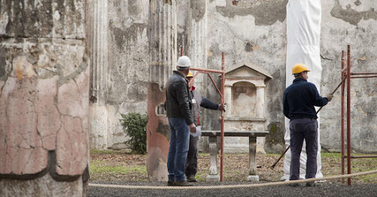 Restoration starts at crumbling ancient city of Pompeii - February 6, 2013